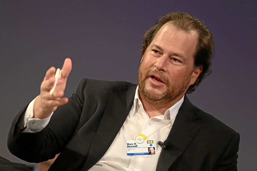 Marc Benioff of Salesforce: We're One Step Closer To Equal Pay