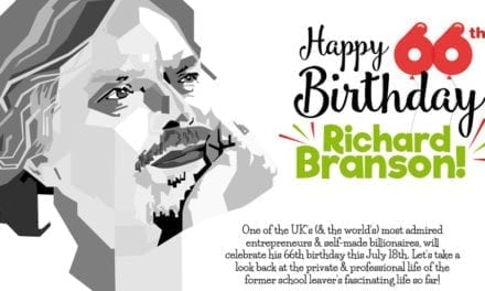 Richard Branson Celebrates 66 Years of Innovation