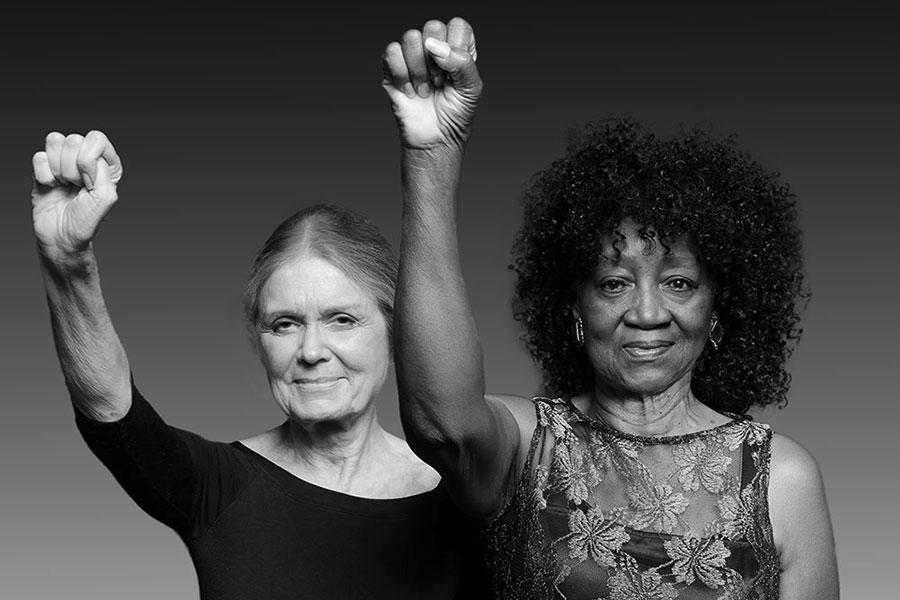 Famous Activist Portrait Re-enacted 45 Years Later