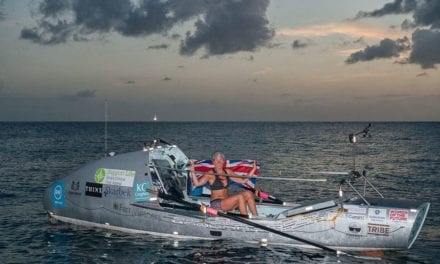 Woman Beats Brain Tumor, Rows Across The Atlantic