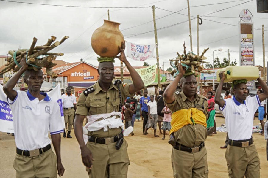 The Male Feminists Inside Uganda's Police Force