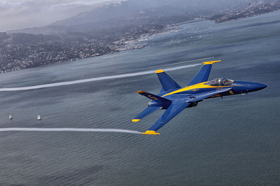 Top 3 Business Tips From a Blue Angels Pilot
