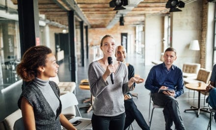 Stage Fright? Here's the First Thing to Say When Making a Speech