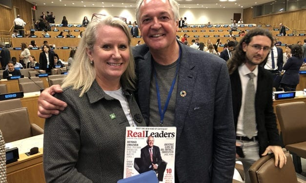 Paul Polman Gives an Impassioned Speech at the UN And Calls For More Real Leaders