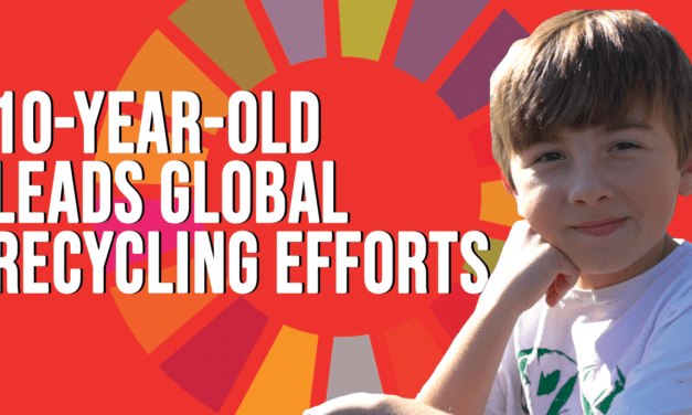 10-year-old Leads Global Recycling Movement