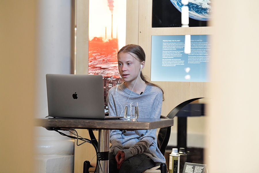Time to Tackle Two Crises at Once, Activist Thunberg Says on Earth Day