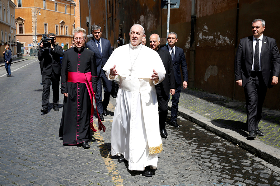 Pope Says Nature Will Not Forgive Our Trespasses