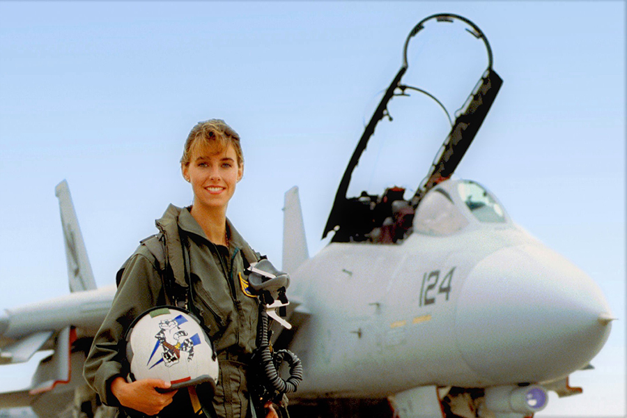 First Female F-14 Tomcat Fighter Pilot: How to Lead Through Adversity