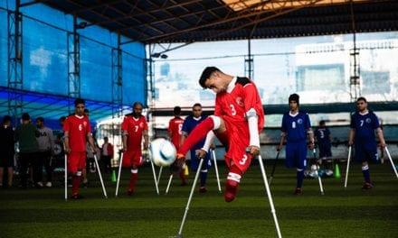 Gaza Amputees Turn To Football To Overcome Disabilities And Trauma