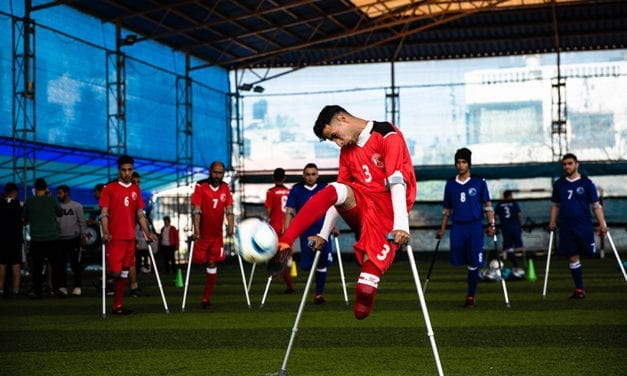 Gaza Amputees Turn To Football To Overcome Disabilities And Trauma