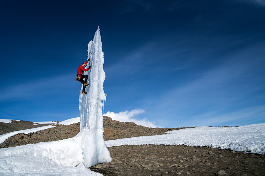 Ice Climber Returns to Africa's Highest Mountain to Climb a Glacier Before it Melts Forever