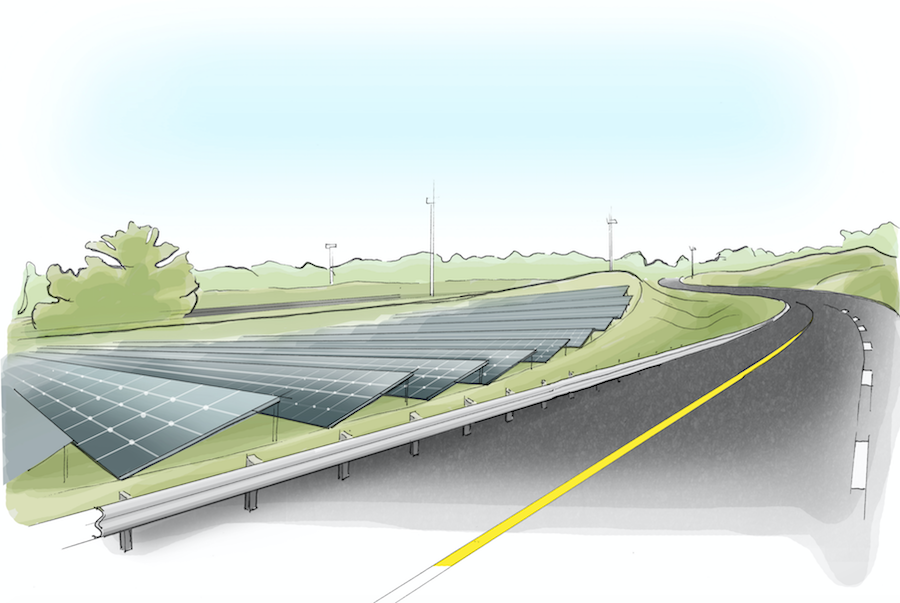 The Ray: Turning Idle Roadside land into Laboratories of Innovation