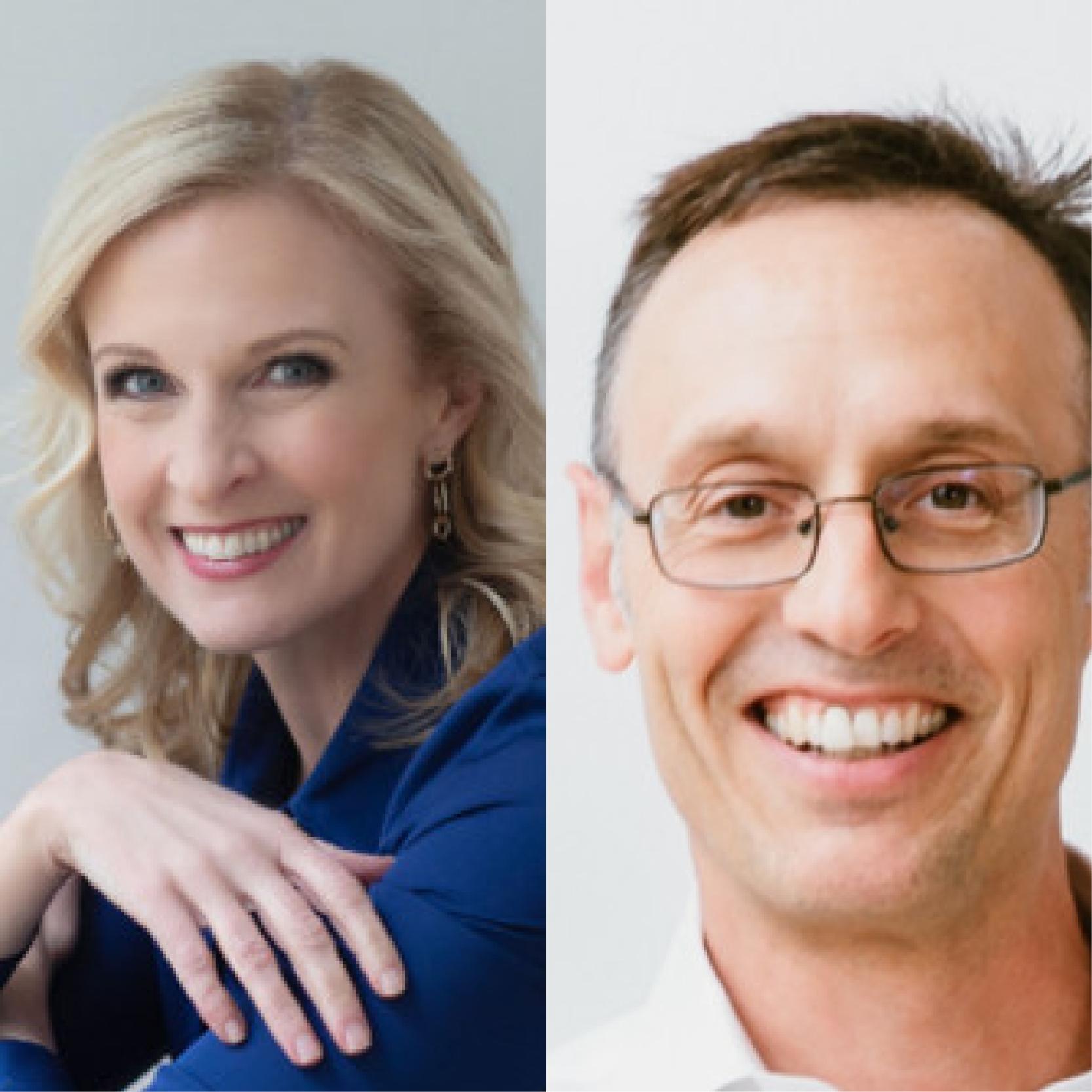 Jennifer Brown and Ed Frauenheim